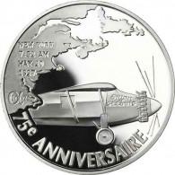 Frankreich 1,5 Euro 2002 PP Atlantikflug Charles Lindbergh