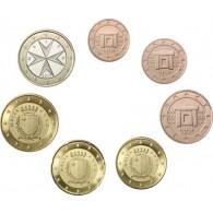 KMS Kursmünzen aus Malta 2017