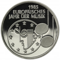 Deutschland 5 DM 1985 PP Europäisches Jahr der Musik in Münzkapsel