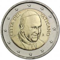 Vatikan 2 Euro Papst Franziskus Jahrgang Historia Wahl