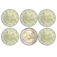 Deutschland 5 x 2 Euro 2013 bfr. Kloster Maulbronn Mzz. A - J