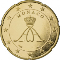 Monaco 20 Cent 2006  PP - Monacos erste Euro-Kursmünzen unter Fürst Albert II
