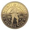 Niederlande 2 Dukaten Gold  1988 - 2002  PP  Stehender Ritter mit Schwert