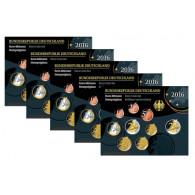 Euro Kursmünzensatz 2016