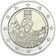 2 Euro Estland 150. Jahrestag des Liederfestivals 2019 2 Euro-Gedenkmünzen Sondermuenzen
