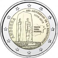 2 Euro Sondermünzen aus Andorra 25 Jahre Verfassung von 2018