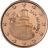 San Marino 5 Cent 2004 bfr. Festungsturm La Guaita