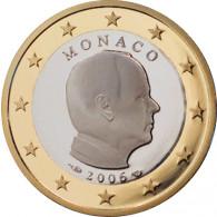 1 Euro Muenze 2006 PP Albert II