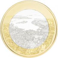 5 Euro Gedenkmünzen Finnland 2018 Finnische Nationallandschaften Maritimes Helsinki