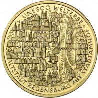 Deutschland 100 Euro 2016 stgl. UNESCO Welterbe : Altstadt Regensburg Mzz. Historia Wahl
