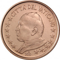 Vatikan Kursmünzen  1 Cent 2002  Papst Johannes Paul II Stempelglanz Münzkatalog bestellen