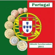 Portugal 3,88  Euro 2015 bfr. KMS - Sondersatz mit 2 € Timor im Folder