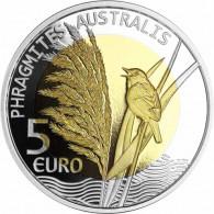 Luxemburg 5 Euro ;ünzen 2018 PP Flora und Fauna Schilf im Folder
