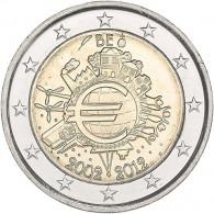 Belgien 2 Euro Sondermuenze 2012  10 Jahre Euro- Bargeld Münzkatalog bestellen