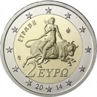 2 Euromünzen Griechenland