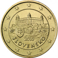 Slowakei 10 Cent 2010 Burg von Bratislava