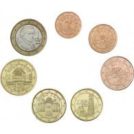 Kursmuenzen Österreich Euro Cent Jahrgang 2017
