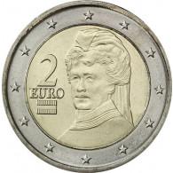 Österreich 2 Euro-Kursmünze 2008 -  Berta von Suttner -