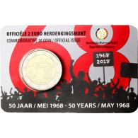 2 Euro Gedenkmünzen aus Belgien 2018 Studentenrevolte