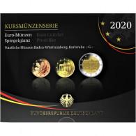 Deutschland 5.88 Euro 2020 PP KMS 1 Cent - 2 Euro Mzz. G im Folder