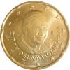 Kursmünzen Vatikan 20 Cent 2008 Stgl. Papst Benedikt XVI.✓ Münzkatalog bestellen