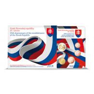 Slowakei KMS 5,88 Euro 2018 25 Jahre Republik