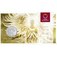 Österreich 10 Euro-Silbermünzen  2018 Himmlische Boten 4. Ausgabe: Uriel-Der Lichtengel