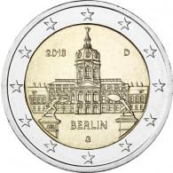 2 Euro Gedenkmünzen Schloss Charlottenburg Berlin 2018