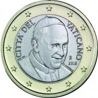 Vatikan 1 Euro 2016 bfr.  Papst  Franziskus