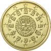 Portugal 10 Cent 2003 Kursmünze mit Königssiegel