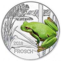 Österreich 3 Euro 2018 Forsch