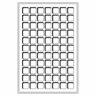 325424 -  Tableaus 77 Fächer bis 22 mm 2er Set  Leuchtturm