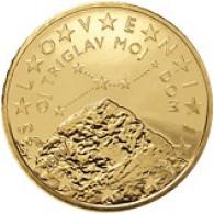 Slowenien 50 Cent 2008 bfr. Berg Triglav