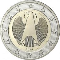 Muenzen Ankauf Kursmünzen Bundesadler Deutschland 2019 bestellen