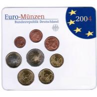 Deutschland KMS original  Kursmünzensätze 2004 im Folder Stempelglanz bestellen Münzhändler