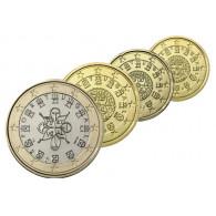 Portugal 10 Cent bis 1 Euro 2008 bfr. 4 Münzen zum Kombi-Preis