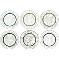 5 Euro Sondermünze 2019 Gemäßigte Zone Polymerring Grün Feldhase bestellen