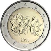 Finnland 2 Euro Kursmünze 2015 Moltebeere