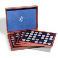 348031 - Kassette für 140 Münzen (verkapselt) runde Felder 26 mm