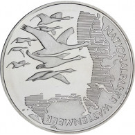 Silber- Gedenkmünze 10 Euro 2004 Nationalpark Wattenmeer