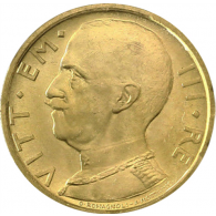 Italien-50-Lire-Vittorio-Emanuel-III-1931-I-und-II