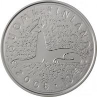 Finnland 10 Euro 2008 stgl. Mika Waltari