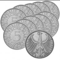 5 DM Silberadler Deutsche Mark Sammlermünzen BRD