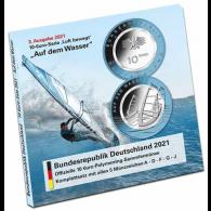 Deutschland-5-x-10-Euro-2021-Auf-dem-Wasser-im-Folder-II