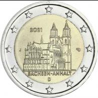 Deutschland-2-Euro-2021-Sachsen-Anhalt-Magdeburger-Dom-J-stgl-I