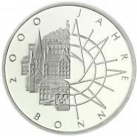 Deutschland 10 DM Silber 1989 Stgl. 2000 Jahre Bonn