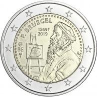 Belgien 2 Euro Gedenkmünze 2019 Stgl. 450. Todestag Pieter Bruegel d.Ä.