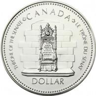 Kanada  1 Dollar 1977 Silber   Regierungsjubiläum
