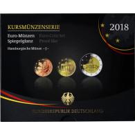 Deutschland 5,88 Euro-Kurssatz 2018 PP im Blister Mzz: J