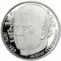 Deutschland 5 DM Silber 1978 PP Gustav von Stresemann in Münzkapsel
